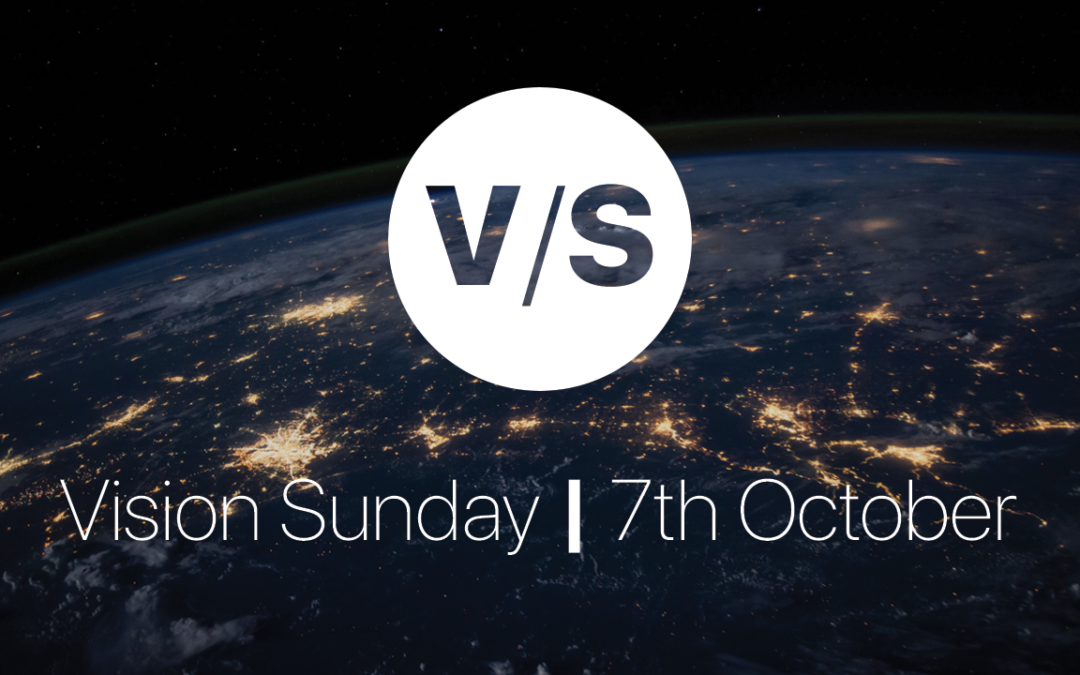 Nicki Sims – Vision Sunday -Casting Vision – 7th October 2018